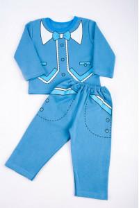 Пижама детская однотонная