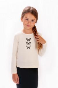 Блуза для девочек с накатом