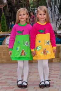 """Платье для девочки """"Яблоко"""""""
