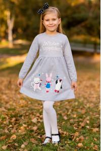 Платье для девочки с накатом