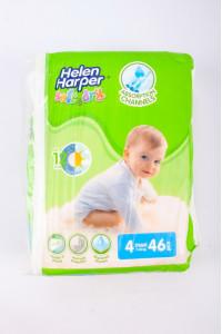 Подгузники Helen Harper Maxi Soft&Dry №4 9-18 кг 46 шт