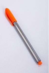 "Ручка масляная ""Tri-Mate"", оранжевый цвет чернил"